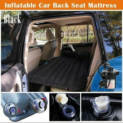 Car Inflatable Air bed Mattress Rear Seat Extended Sleep Bed For Travel Beige