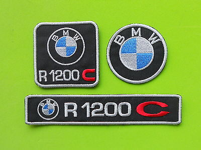 Patch Bmw R1200 C Pz 3 Ricamate Termoadesive -Replica