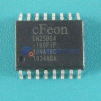 Lot of 5PCS EN25B64-100FIP 0.05A, 40V, 4 SOP16 ANNEL, NPN, IC Best Price Quality