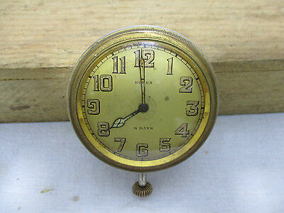 antique car BUREN 8 Day Jewels Vintage Car Dashboard Clock classic truck watch