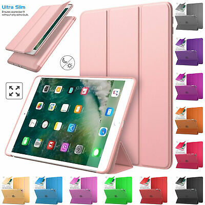Ultra Slim Magnetic Leather Smart Cover Case For Apple iPad Air, Air 2, 2 3 4