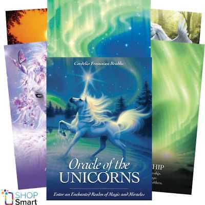 Oracle Of The Unicorns Deck Cards Oracle Esoteric Telling Blue Angel New