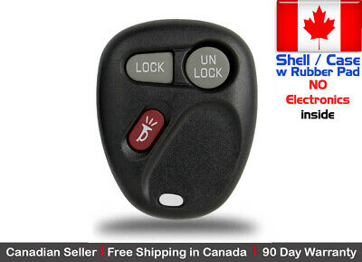 1x New Replacement Keyless Remote Key Fob For Chevy Cadillac GMC - Shell Only