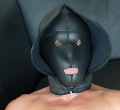 "Neoprene Deprivation Hood ""CONFINEMENT"" / 9401/S01"