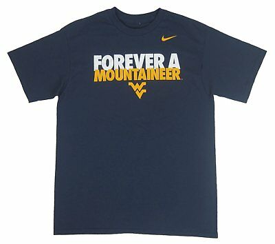 3c652aff Nike - NWT West Virginia Forever A Mountaineer Navy Youth T-Shirt - Size: