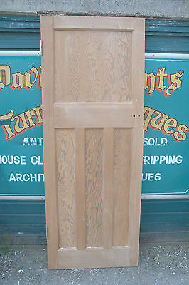 3780 Classic art deco internal stripped pine door