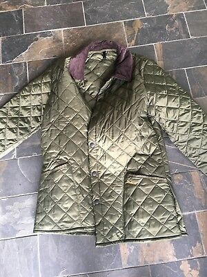 Barbour Liddesdale Jacket, New With no Tags, Medium, Olive Green