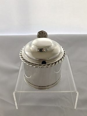 Sterling Silver William IV Mustard Pot 1834 London Charles Fox