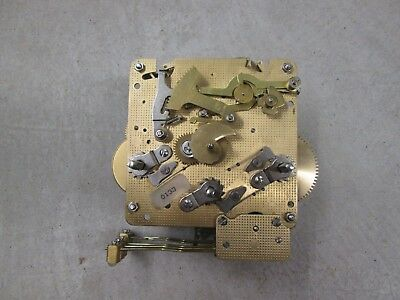 Hermle Westminster Chime Wall Clock Movement 341-020 33.5cm in Running Condition