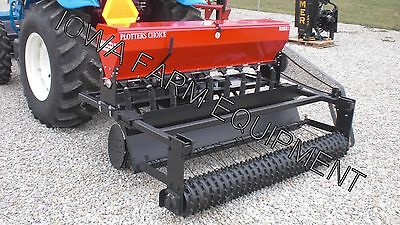 Food Plot Drill & Broadcast Seeder, Seed Drill: 6' Kasco Plotters Choice Combo!