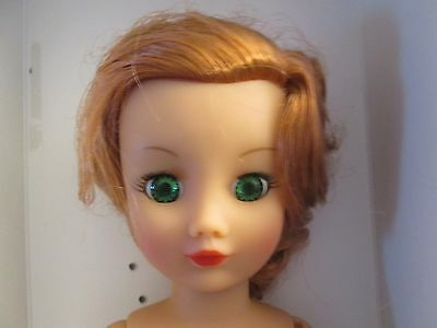 "CINDY BRIDE NUDE Rini Horsman Fashion DOLL 19 pt Vinyl BJD 14"" Redhead Posable"