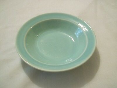 Luray Pastels TST  Surf Green Small  Shallow Fruit  Sauce Bowl