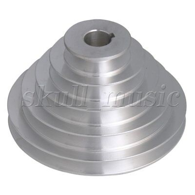 BQLZR 22mm Bore 5 Step A Type V-Belt Pagoda Pulley Belt Outter Dia 54-150mm