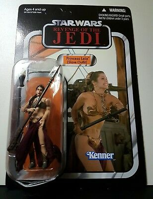 STAR WARS The Vintage Collection SDCC - VC64 SLAVE LEIA - REVENGE OF THE JEDI -