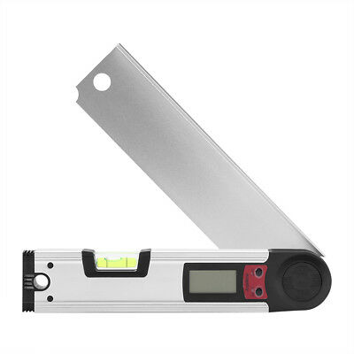 0-225° Digital Protractor Inclinometer Angle Meter Level Finder Gauge Ruler MF