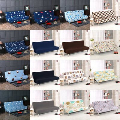 AU! 23 Style Stretch Sofa Cover Slipcover Armless Futon Cover Seater Protector