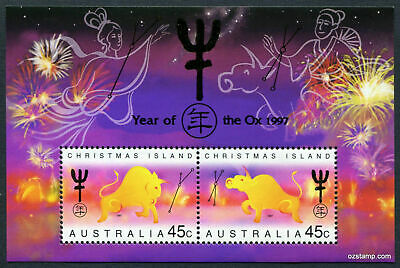1997 Christmas Island  Post Office pack - Year of the Ox  - MNH