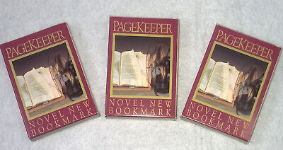 PageKeeper Lot of 4 Automatic Bookmarks Assorted Colors NEW