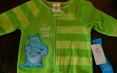 Disney Baby by Disney Store 3-6 month BNWT sleeper Monsters Inc Sully