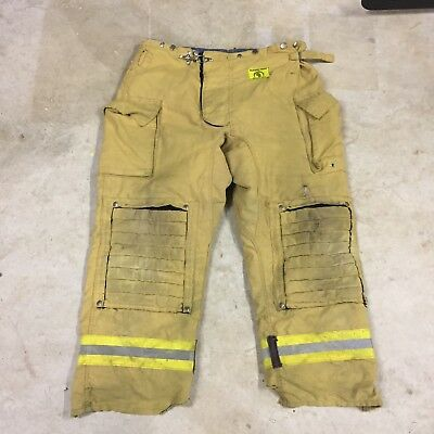 Morning Pride Fire Turnout Gear Pants Size 42