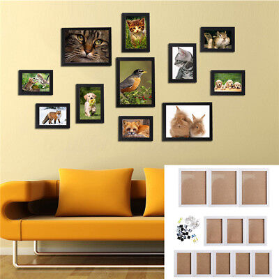 FAMILY TREE Frame Collage Pictures Frames Multi-Photo Mount Wall ...