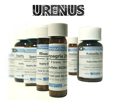 Homeopathy /  Homeopathic Remedy / Medicines 6c / 8 Gram