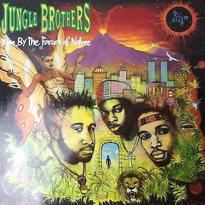 Jungle Brothers - Done by the Forces of Nature Vinyl Album LP