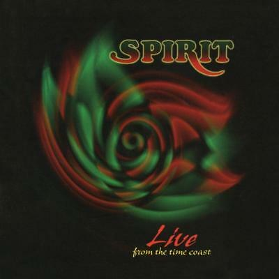 SPIRIT - LIVE FROM THE TIME COAST 2CDs (New & Sealed) Rare Vault 1989 - 96