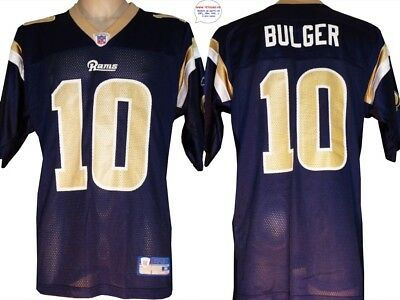 Maillot nfl Foot US américain RAMS N°10 Bulger Taille XL (us) -> xxl 2XL (fr)