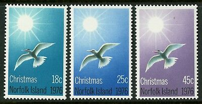Norfolk Island   1976   Scott # 198-200  Mint Never Hinged Set