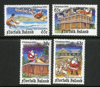 Norfolk Island   1990   Scott # 491-494    Mint Never Hinged Set