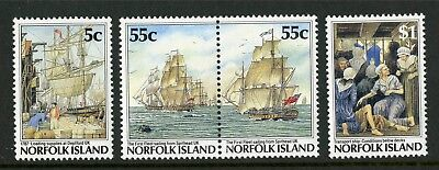 Norfolk Island   1987   Scott # 417-420    Mint Never Hinged Set