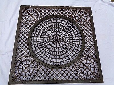Antique Homer Grate,furnace ,fireplace,heat,cooling,industrial,unique Cast Iron
