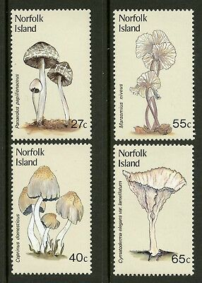 Norfolk Island   1983   Scott # 306-309    Mint Never Hinged Set