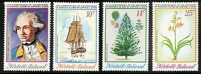 Norfolk Island   1974   Scott # 175-178    Mint Never Hinged Set