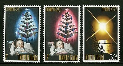 Norfolk Island   1973   Scott # 153-155    Mint Never Hinged Set