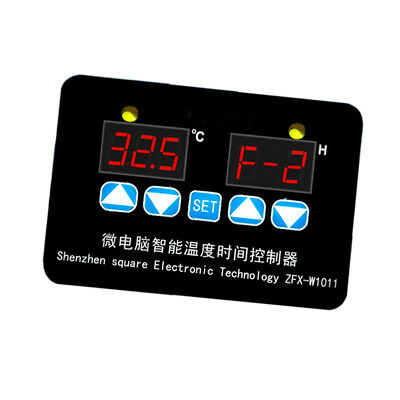 12V Digital Humidity Temperature Controllers Testing Microcomputer Timer