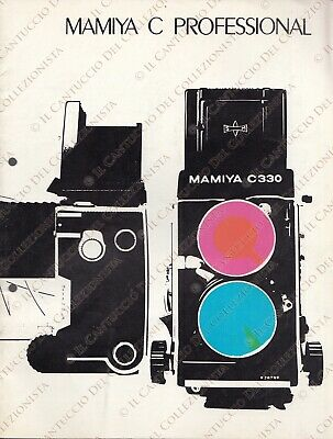 MAMIYA C PROFESSIONAL Camera Lenses description catalog *booklet CCAW130