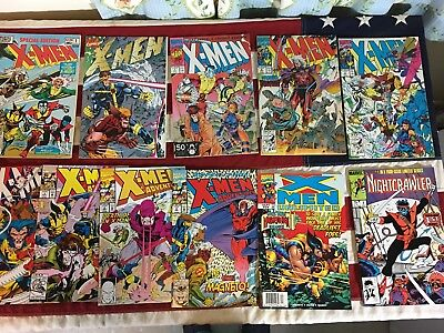 Marvel Lot of 10 X-Men # 1, 2, 3 1991 & 4, Special Edition 1 and more, NM - VF