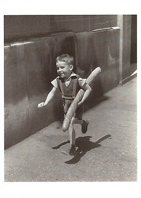 Postcard Child Running with Bread, The Little Partisan 1952 by Willy Ronis #29