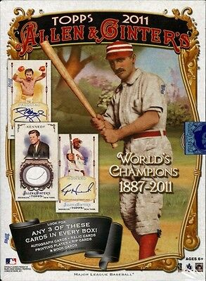 2011 Topps Allen & Ginter complete your set pick 20 cards from list (Sku #1062)