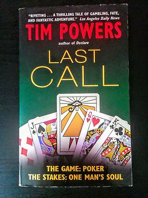 Last Call by Tim Powers [Science Fiction Horror Adventure Novel]