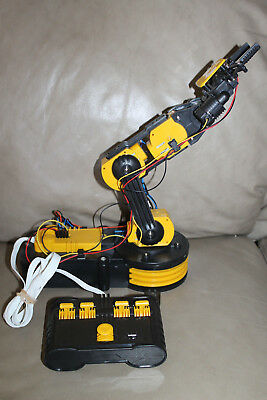 Robotic Arm Mechanical Robot Claw Clamp School Science Project