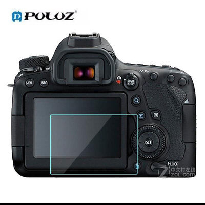 For Canon EOS 6D Mark II EOS 6D MarK2 Camera HD Tempered Glass Screen Protector
