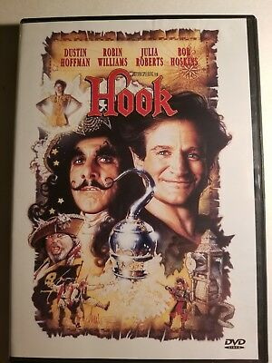 Hook (DVD, 2000, Closed Caption)Disc Only Free Shipping