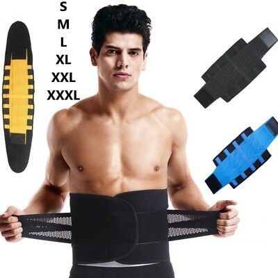 Men Xtreme Thermo Shaper Waist Trainer Sauna Power Belt Sport Tummy Trimmer Wrap