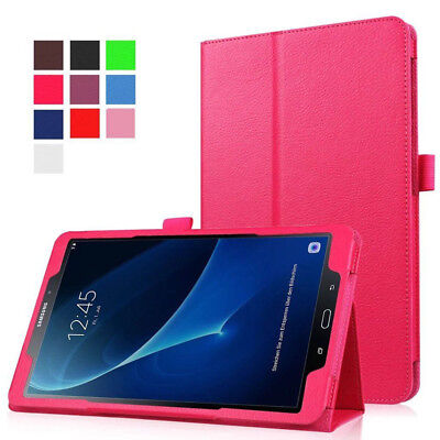 "For Samsung Galaxy Tab E 7"" 8"" 9.6"" SM-T560 Rotating Smart PU Leather Case Cover"