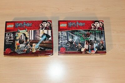 LEGO Harry Potter Freeing Dobby 4736 and The Forbidden Forest 4865 New Sealed