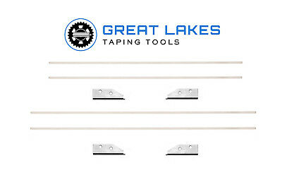 "NorthStar OEM 10"" & 12"" Drywall Flat Box Blade Kit. Ships Free! Fits Most Brands"