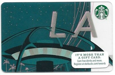 "Starbucks City Gift Card ""Los Angeles "" 2015 Mint"